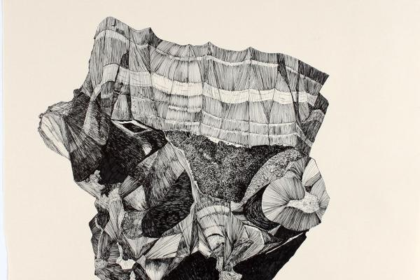 Banded layered aggregates